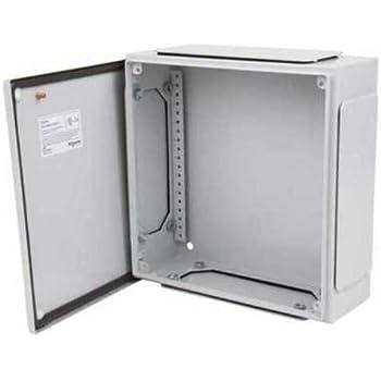 schneider electric nsysbmc204012 boitier lectrique ip55 en acier tanche et r sistant aux. Black Bedroom Furniture Sets. Home Design Ideas
