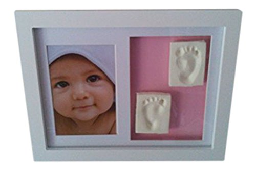 Baby Gießen Kit Photoframe Hand oder Fuß- casting kit -