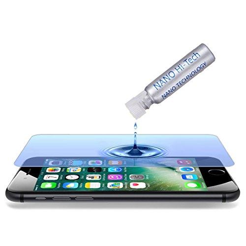 wortek Flüssiger Displayschutz Liquid Display Versiegelung Full Cover Handy Schutz Nano Protect unsichtbares Panzerglas Tempered Glass für jedes Smartphone Wie iPhone X, Samsung Galaxy S8, Huawei (Shield Cover Protector Screen)