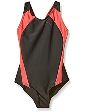 Puma Mädchen Active Cat Logo Swim Suit W Badeanzug