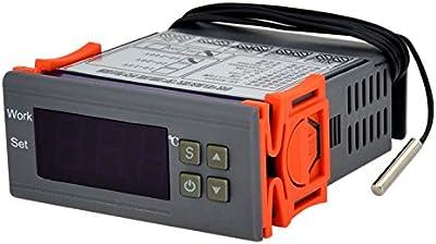 Ckeyin® Auto Termostato Digital Controlador de Temperatura Para Acuario (220V)