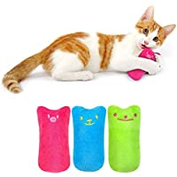 Cats use Chewing Teeth to Clean Fish-Shaped Catnip Toys When Playing, Creative Catnip Teeth Cartoon Chewing Toys