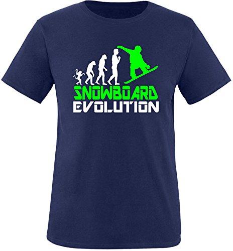 EZYshirt® Snowboard Evolution Kinder T-Shirt (Snowboard Evolution Hose)