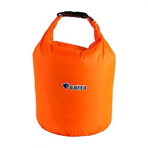 Dilwe Borse Impermeabili Galleggianti, Multifunzione Sacche di Stoccaggio per Nautica, Pesca, Rafting, Nuoto e Campeggio(20L-Arancione)