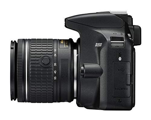 "Nikon D3500 Fotocamera Reflex Digitale con Obiettivo Nikkor AF-P 18/55VR, 24,2 Megapixel, LCD 3"", Nero"