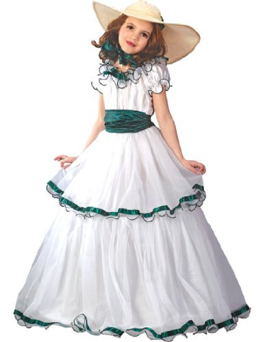Fun World FW5934-L Southern Belle Kinderkost-m Gr--e L