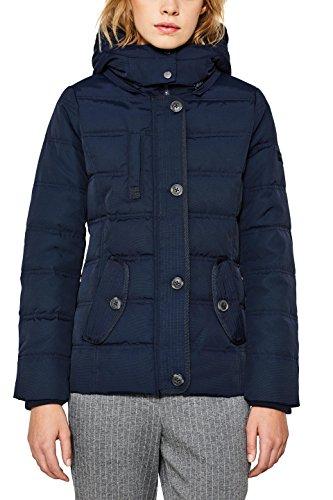 Jacke Winter Esprit (ESPRIT Damen Jacke 097EE1G019, Blau (Navy 400), Medium)