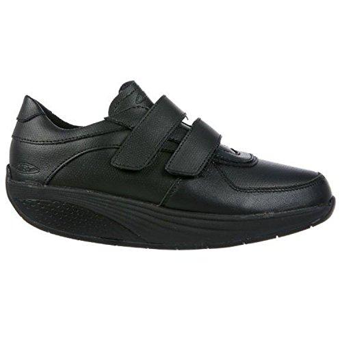MBT Unisex-Erwachsene Karibu 17 Velcro Strap Arbeitssneaker, Schwarz (03), 42 EU (Schuhe Karibu)