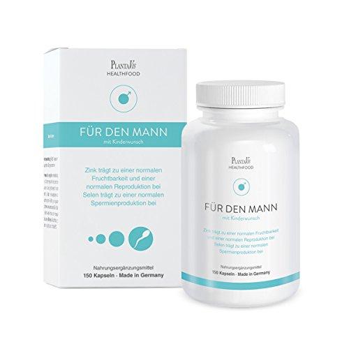 FÜR DEN MANN MIT KINDERWUNSCH - Mit Selen für eine normale Spermienproduktion - Monatspackung