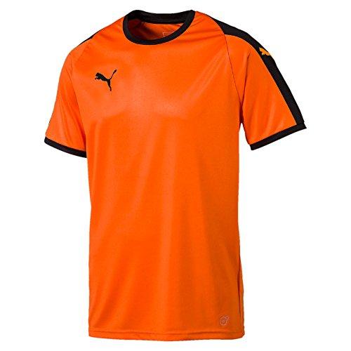 Puma liga jersey, maglietta uomo, arancione (golden poppy black), l