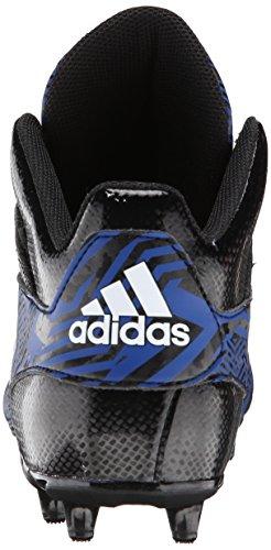 Adidas Performance Filthyspeed Mid Football Taquet, Noir / platine, 6,5 M Us Black/White