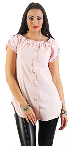 Fashion4Young - Chemisier - Femme Rose
