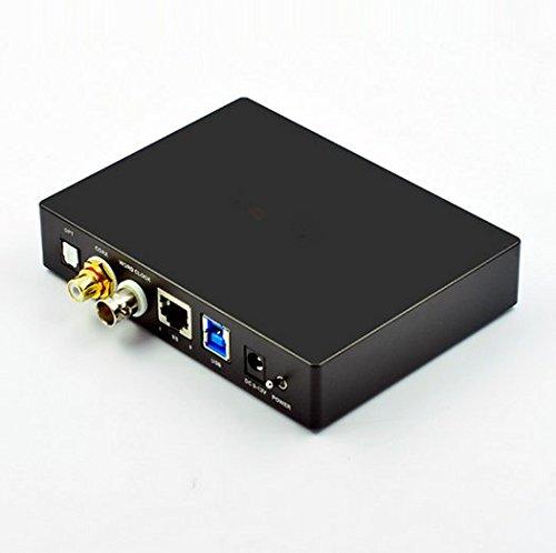 Gowe Audiophile Version, USB Digital Schnittstelle/XMOS Sound Karte optischen Koaxial/Optisch/I2S/BNC Unterstützung DSP DC9–12V