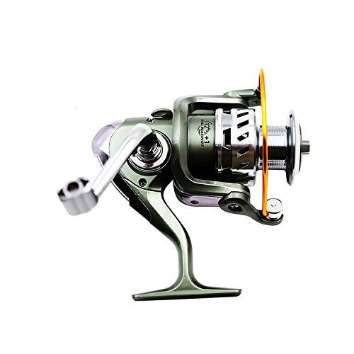 Mulinello da pesca con 12+ 1cuscinetti a sfera da Xunma, Gear ratio (4.7: 1), max (Penn Reel Maniglia)
