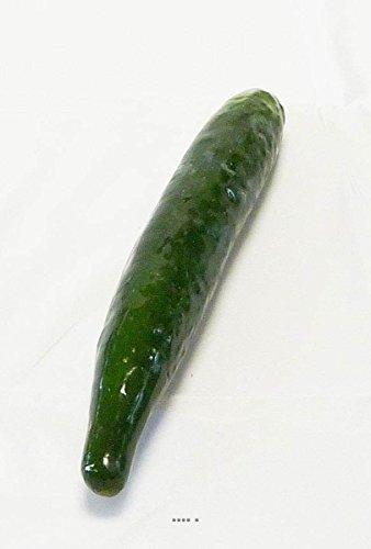 Artif-deco - Concombre legume artificiel d 4 cm et longueur 27 cm