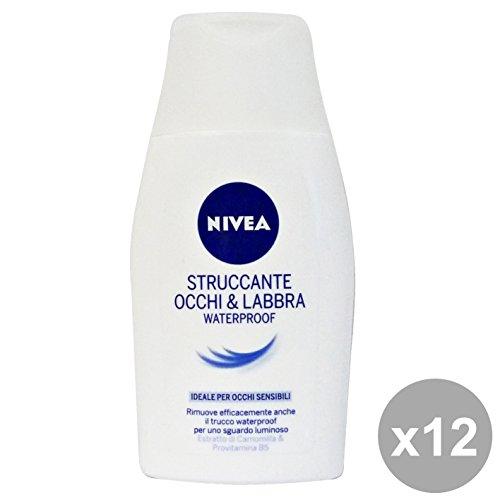 Set 12 NIVEA STRUC.Occhi-Labbra WATERPROOF 125 Ml. 81941 Cura del viso
