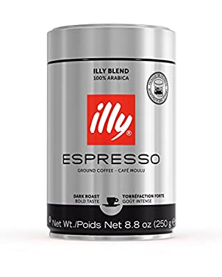 illy Dark Roast Ground Coffee