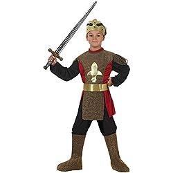 Atosa-19634 Caballero Medieval Disfraz Rey, Color Dorado, 5 a 6 años (19634)