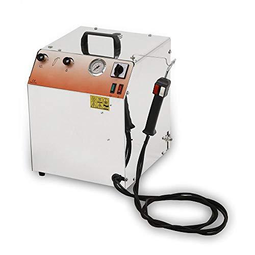 Eolo generatore di vapore professionale a ricarica automatica per la pulizia sanificazione lp02cra