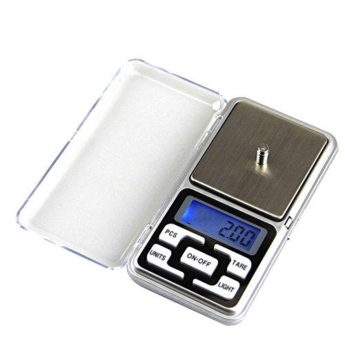 efanr Pocket Maßstab Elektronische Digital Gewicht Balance Waage Küche Jewelry Speisen, Ernährung Maßstab weichem Button Handy Höhe Genauigkeit Maßstab 500g/0.01g (Leggings Cherokee)