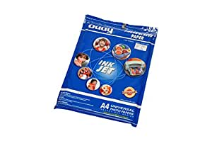 Oddy A3 Size Universal Coated Glossy Paper For All Inkjet Printers 130 GSM - 50 Sheets