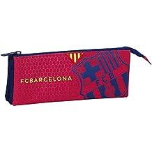 F.C Barcelona - Portatodo triple, color azul / granito (Safta 811572744)