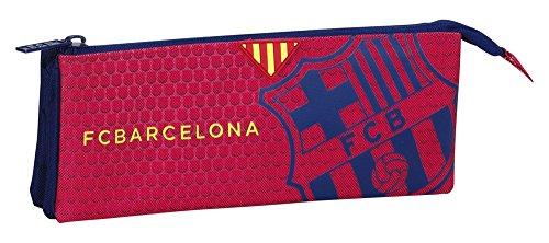 F.C Barcelona – Portatodo Triple, Color Azul/Granito (SAFTA 811572744)