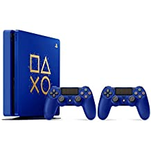 Sony PlayStation 4 500GB Console - Limited Edition Blue Days of Play