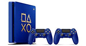 """Sony PlayStation 4 500GB Console - Limited Edition Blue """"Days of Play"""""""