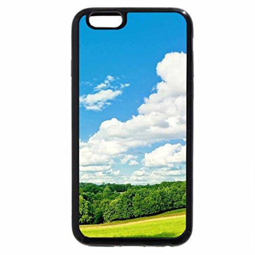 iPhone 3S/iPhone 6Coque (Noir) Parfait pour un jour à jardin d'Edmonton 09