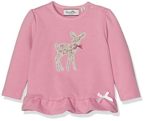 Sanetta Baby-Mädchen Sweatshirt Pink (Rose Shadow 3915.0) 86