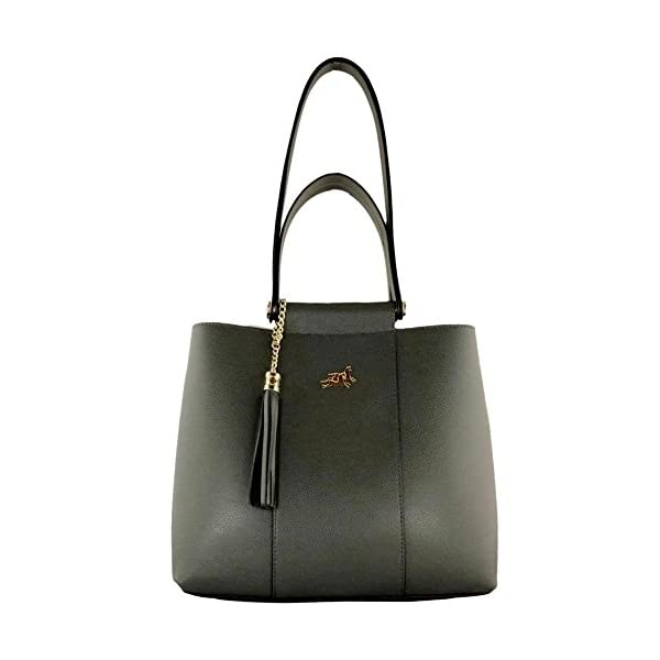 Top handle Leather bag Simona - handmade-bags