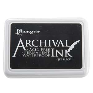 Ranger Archival Ink Pad, Jet Black