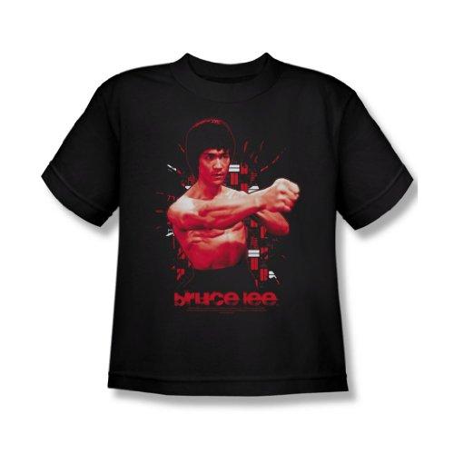 Bruce Lee - Die erschütternde Fist Jugend T-Shirt in schwarz Black