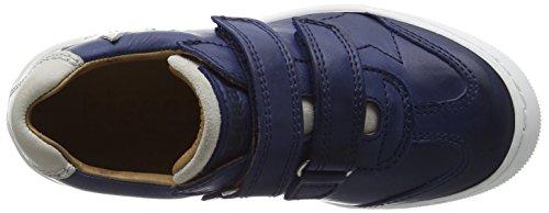 Bisgaard Unisex-Kinder Velcro Shoes Low-Top Blau (20 Blue)