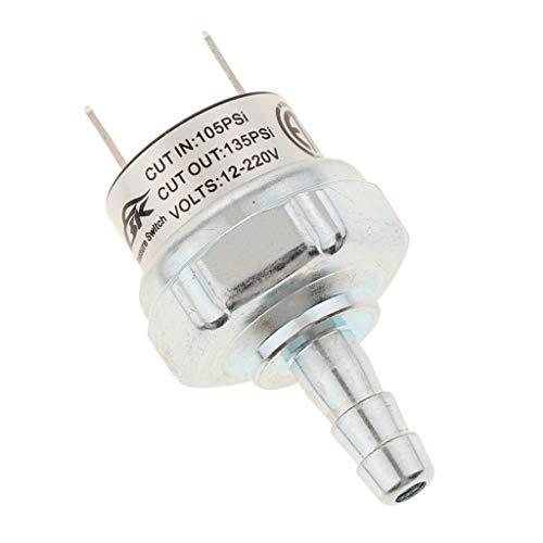 B Baosity 12-220V 105PSI zu 135PSI Druckschalter Luftdruckschalter passend für Kompressor Lufthörner