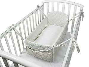 Babysanity riduttore 360° completo - Miniletto neonato beige