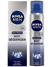 NIVEA MEN Deodorant, Ice Cool Deodorizer, 120ml