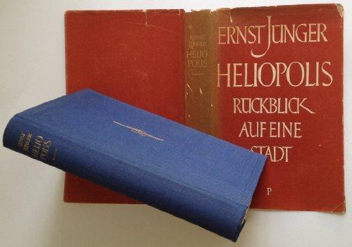 Héliopolis Envoi de Ernst Jünger
