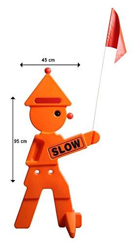 Warnfigur Safety Clown - Orange