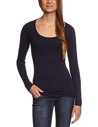Garage - Camiseta slim fit de manga larga para mujer