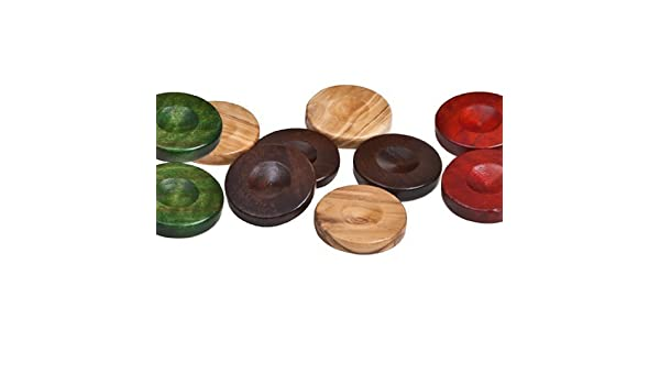 Inc Nikkos Deluxe Olive Wood Backgammon Checkers from Greece Bello Games New York