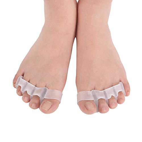 1 Paar Toe Separator Toe Distanzscheiben Toe Stretchers für Männer und Frauen Einfach Abnutzung in Schuhen, schnell Lindern Schmerzen Nach Yoga und Sportaktivitäten
