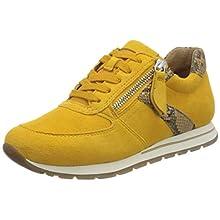 Gabor Women's Harrison Low-Top Sneakers, Yellow (Mango/Camel 22), 6 UK