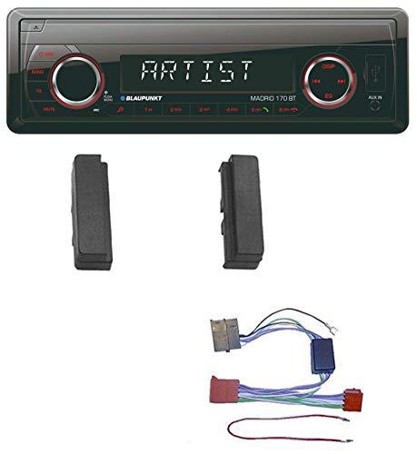 Blaupunkt Madrid 170 BT MP3 USB AUX Bluetooth SD Autoradio für Audi A3 8L TT 8N bis 99 Aktivsystem ISO