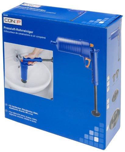 CON:P SA220 Pressluft-Rohrreinigungspistole für Bad und Küche - 6
