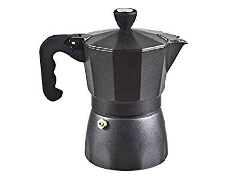 Beper 1-Cup Mocha Coffee Maker, Black