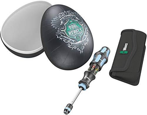 Wera 05134211001 Ostergeschenk mit Werkzeug, Osterei Kraftform Kompakt 20 Tool Rebel