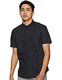 Indian Terrain Men's Floral Slim fit Casual Shirt