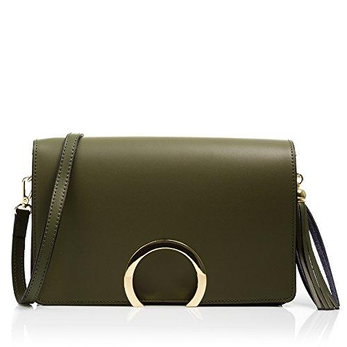 FIRENZE ARTEGIANI.Damen-Handtasche aus echtem Leder. Tasche aus echtem Leder. Luxuriöses D Preisvergleich
